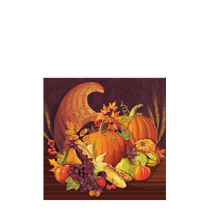 Harvest Beverage Napkins- 16ct