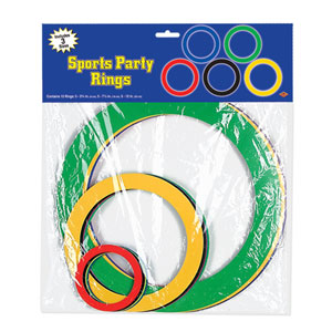 Sports Party Rings- 15ct