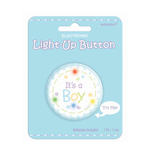 It's A Boy Light Up- 2in