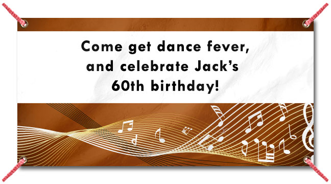 Disco Music - Custom Banner