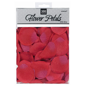 Rose Flower Petals - Red