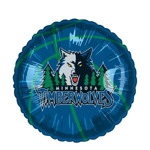 Minnesota Timberwolves Balloon- 18in