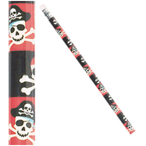 Pirate Value Pack Pencils- 12ct