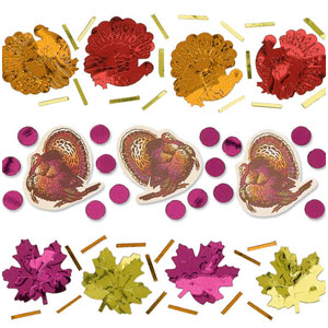 Thanksgiving Triple Pack Confetti Mix- 1oz.