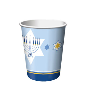Hanukkah Lights 9 oz. Cups