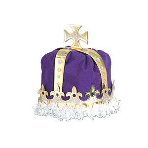 Royal King Crown - Purple