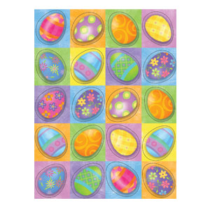 Springtime Eggs Stickers