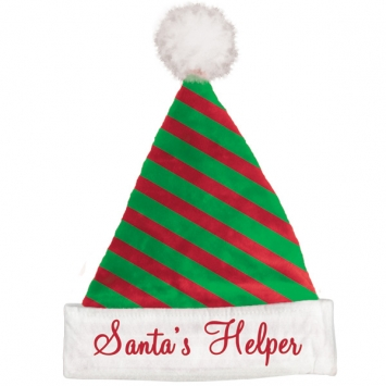 Felt Striped Santa Hat