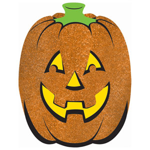 Large Glitter Pumpkin- 18in