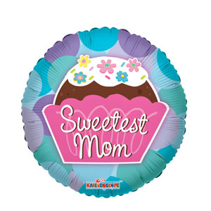 Sweetest Mom Balloon- 18in