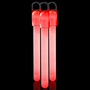 4 Inch Standard Glow Sticks - Red