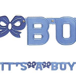 It's A Boy Banners