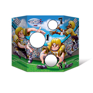 Football Toss Game- 25in