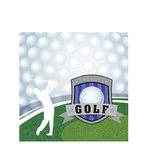 Golf Luncheon Napkins