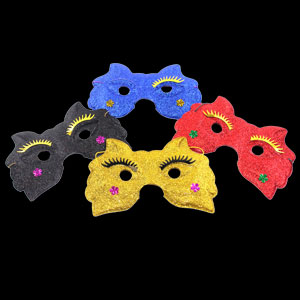 Glitter Masks - Assorted