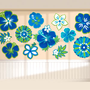Cool Flower Cutout Assortment- 12ct