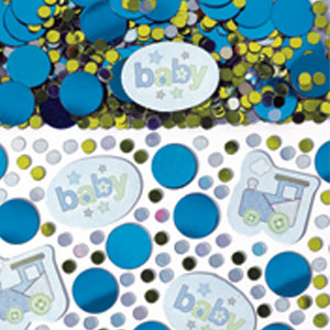 Boy Printed Confetti Mix - .5 oz