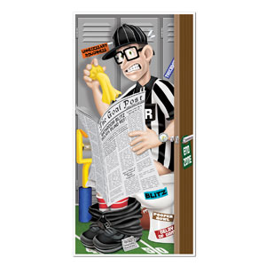 Referee Restroom Door Cover- 5ft