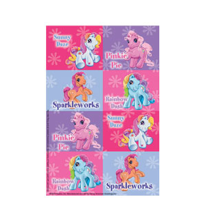 My Little Pony Stickers- 2ct