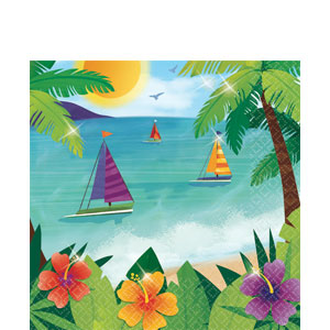 Ocean View Luncheon Napkins