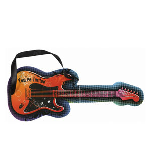 Rock Star Jumbo Novelty Invitations- 8ct