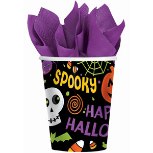 Spooktacular 9 oz. Cups- 50ct