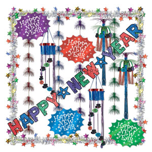 New Year's Decorating Kit - 17ct