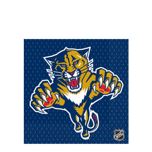 Florida Panthers Luncheon Napkins- 16ct