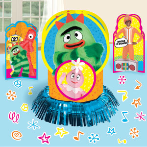 Yo Gabba Gabba Table Decorating Kit- 23pc