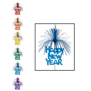 Happy New Year Firework Stringer - 7ft