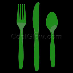 Green Cutlery Assortment - 150ct