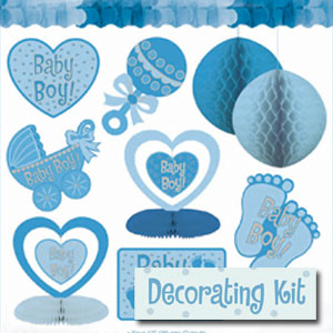 Baby Boy Decorating Kit - 10pc