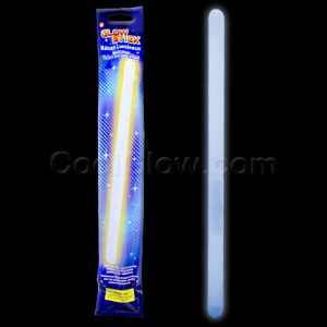 14 Inch Glow Sticks - White