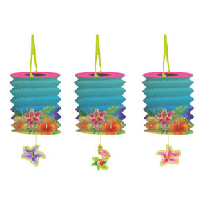 Hibiscus Heat Lanterns- 3ct