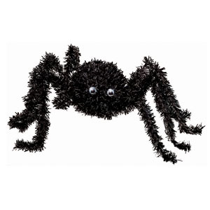 Tinsel Spider- 18 Inch
