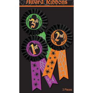 Halloween Ribbons- 3ct