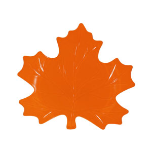 Leaf-Shaped Platter- 10 Inch
