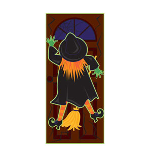 Witch Splatter Door Sign