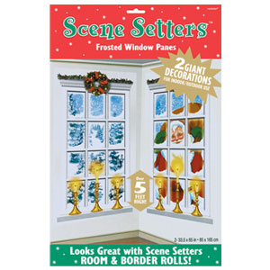Frosted Window Scene Setters - 5ft