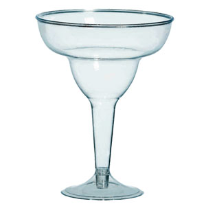 Clear 11 Ounce Margarita Glasses- 20ct