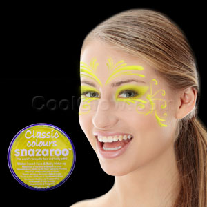 Bright Yellow Face Paint - 18 ml