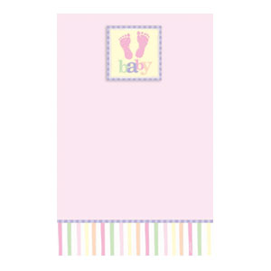 Baby Pink Printable Invitation - 25ct