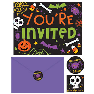 Spooktacular Invitation Pack- 20ct