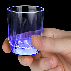 LED Shot Glass - Blue