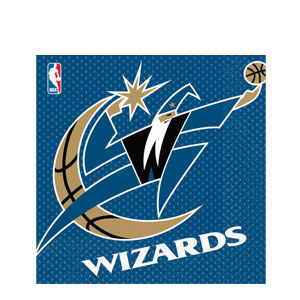 Washington Wizards Luncheon Napkins