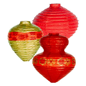 Holiday Lanterns- 3ct