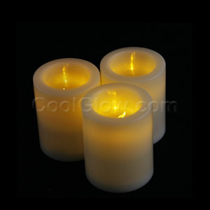 LED Flameless Votive Candle - Yellow
