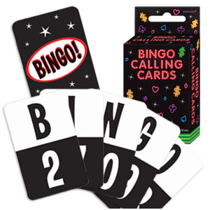 Bingo Calling Cards- 76ct