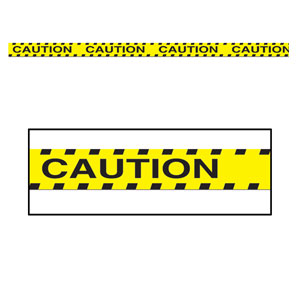 Caution Party Tape - 20ft