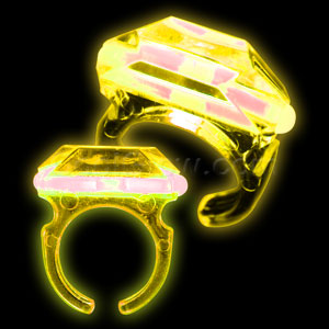 Glow Ring - Yellow